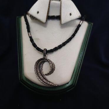 Qədimi gümüş kulon ve sepi Ukraynadan Sərgiden alınıb Əl işi sepin