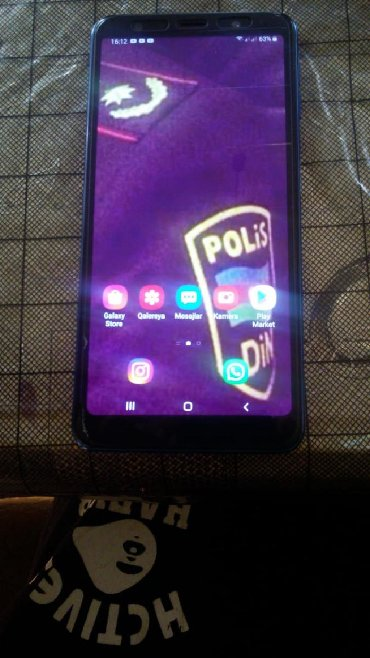 Samsung Ağstafada: İşlənmiş Samsung Galaxy A7 2018 64 GB göy