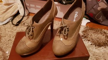 Ženska obuća   Beograd: Cipele caplinke, nove nenosene