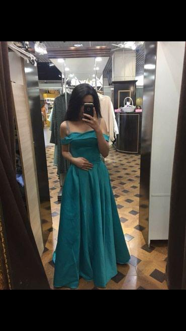 Вечернее платье с небольшим шлейфом в Бишкек