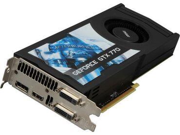 gtx 660 palit 2gb в Кыргызстан: Видеокарта MSI GEFORCE GTX 770 2GB GDDR5 256BIT  Отлично работает, люб