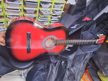 gitara klassik - Azərbaycan: Teze pakofqa klassik simli gitara
