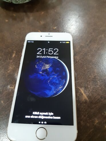barter telefon - Azərbaycan: İşlənmiş iPhone 6 16 GB Qızılı
