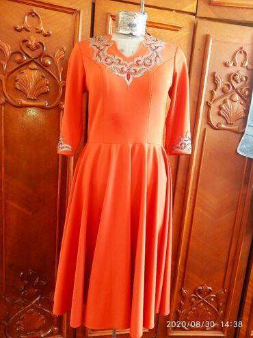 Женская одежда - Кашка-Суу: Очень красивое и шикарное платье с кыргызскими орнаментами))