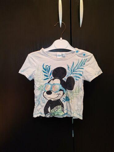 Disney majica bez ostecenja Velicina 80