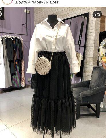 Шикарная юбка «пачка» почти в пол размер 42-44 на s-m .Новая! покупала