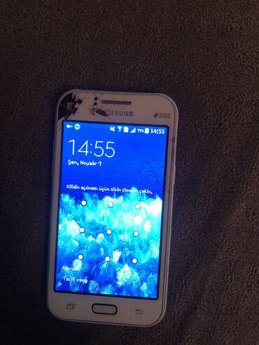 Samsung galaxy j1 - Азербайджан: Б/у Samsung Galaxy J1 Белый