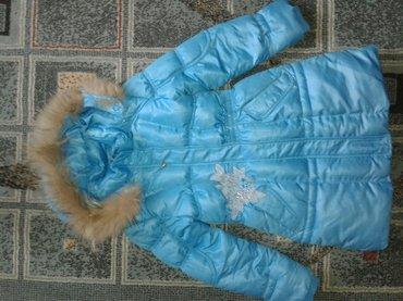 детское зимнее пальто рост 130см в Бишкек