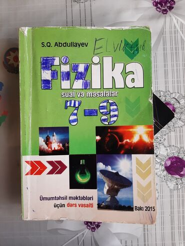 Fizika 7-9 məsələ kitabıFizika 7-9 mesele kitabiİdeal vəziyyətdədirÇox