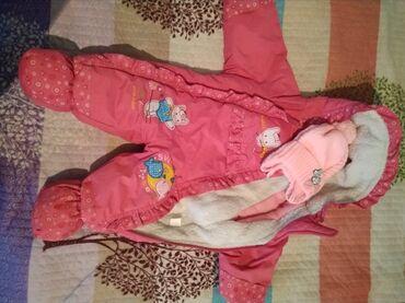 детские шапки с помпонами из натурального меха в Кыргызстан: Детский комбинезон с 0 до 7-8 месяцев, пользовались мало