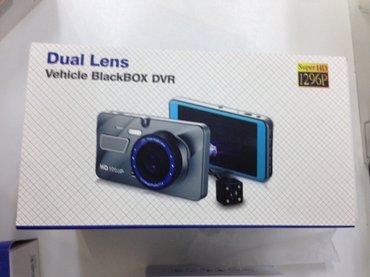 Bakı şəhərində EagleCam A10 model 2 kamerali video qeydiyyatci videoregistrator .
