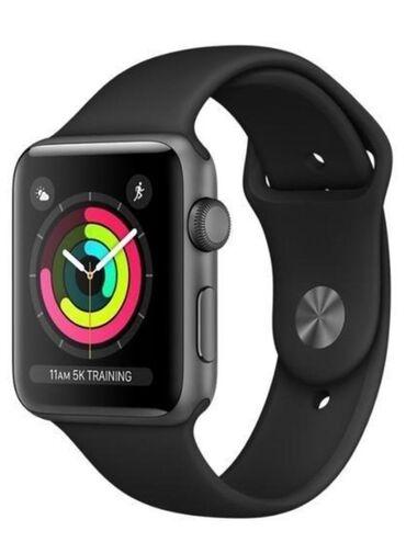 Apple Watch 3 серия 38 мм, с коробкой все документы . Состояние