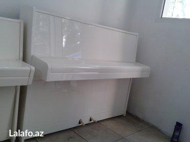 Bakı şəhərində Tam yeni scholze markalı piano - Çexoslovakiya istehsalı, ideal- şəkil 7