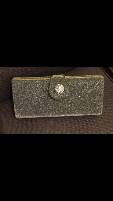 Τσαντάκι - Ελλαδα: Metalic clutch βραδυνό τσαντάκι Accessorize με έξτρα μακρυά αλυσίδα Ολ