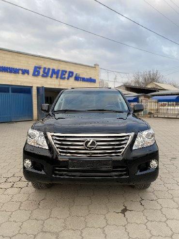желтый lexus в Кыргызстан: Lexus LX 2008