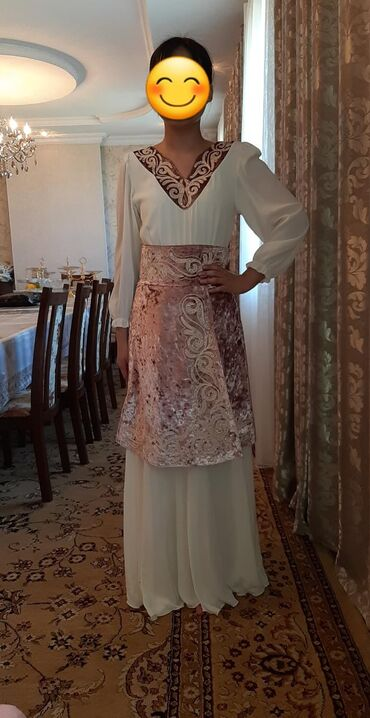 платья-на-кыз-узату-бишкек в Кыргызстан: Платья на кыз узатуу. Состояние идеальное. Размер 42-44 . Из