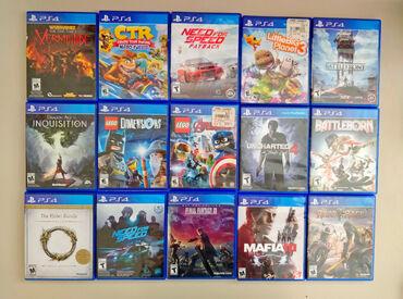 PS4 üçün oyun lar ( iqra game ).Qiymətlər 25-80 azn