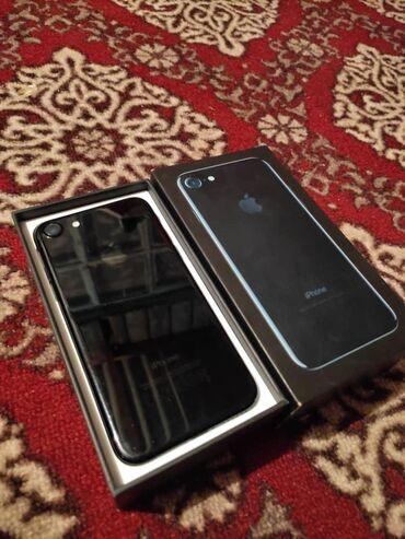Электроника - Баткен: IPhone 7   128 ГБ   Черный (Jet Black) Б/У   Гарантия, Отпечаток пальца