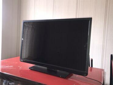 84 ekran Toshiba televizor. Evin 2-ci televizorudur ona göre de çox
