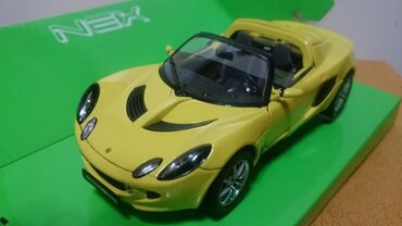 Avtomobil modelləri - Azərbaycan: Lotus Elise 111s modeli 1:24 Taninmish Welly firmasi demirdendir