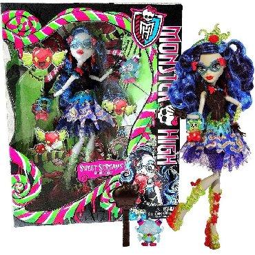 """Игрушки в Кыргызстан: Продаю куклу монстер хай,monster high Гулию Йелпс из серии""""Сладкие"""