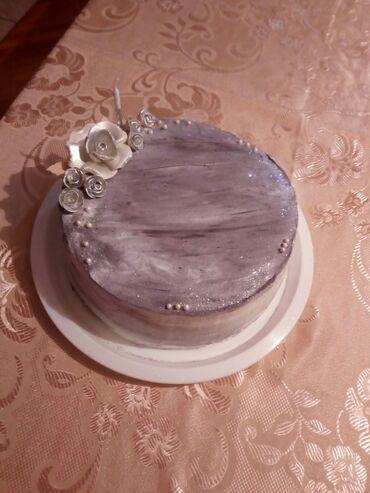 Domace torte - Vocna torta sa malinama, lesnicima, orasima i