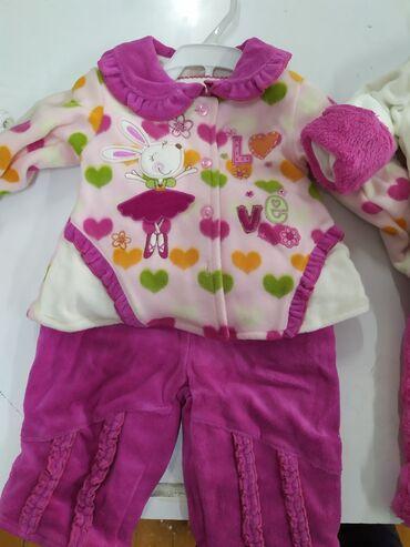 детские костюмчик в Кыргызстан: Продаю детские костюмчики на весну,тройки 6-12 месяц.по