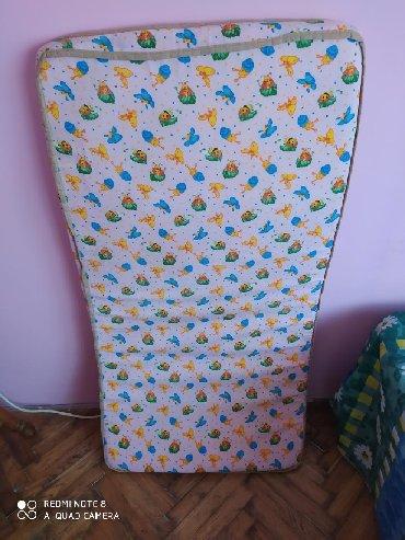 Dečije jakne i kaputi | Pancevo: Dušek za prenosivi krevet,extra očuvan kao nov.Na poklon jedna od