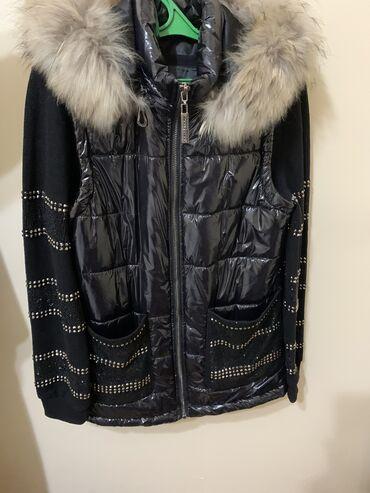 трикотажная кофта в Кыргызстан: Продаю 3 ку (жилет, кофта,брюки) мех натуральный Турция одевала 2 ра