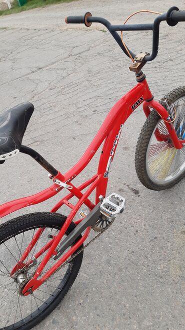 Спорт и хобби - Балыкчы: Велосипед б/у Красный О цене можем договориться  Город Балыкчы