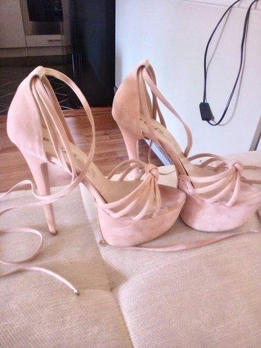 Perla sandale. Jednom nosene. Puder roze boja. Broj 37. Bez ikakvih - Smederevo