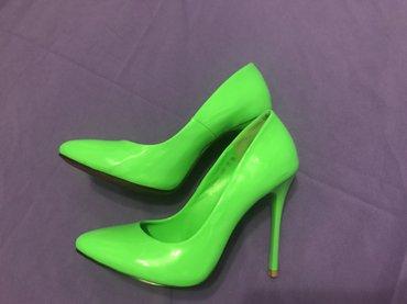 Яркие лаковые туфли. Размер 35. Продаю по причине того, что не в Бишкек