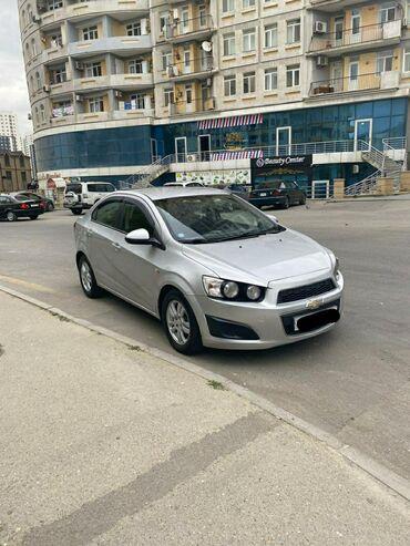 Chevrolet - Azərbaycan: Chevrolet Aveo 1.4 l. 2012