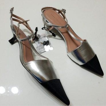 Туфли шикарные новые Zara размер 39 в Orestiada
