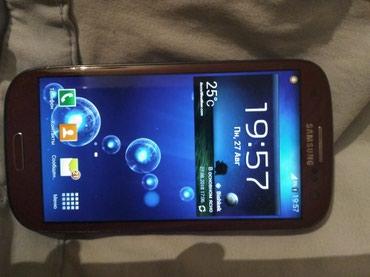 Продаю телефон Samsung s3 GT-I9300 в идеальном состоянии 4200с в Бишкек