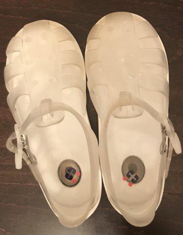 Chicco gumene sandalice, kao nove. Broj 25, unutrasnje gaziste 15,5cm. - Crvenka