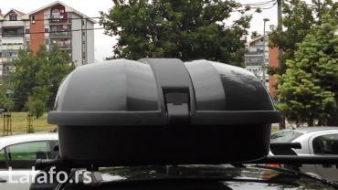 Iznajmljujem Krovni Kofer CAM 323 Elite, zapremine 320litara. Cena je - Beograd