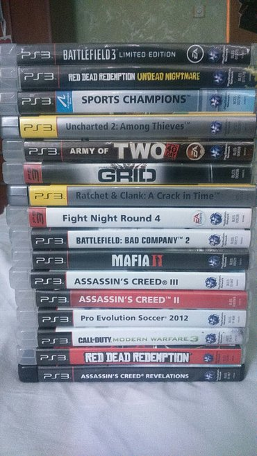 PS3 igrice u odličnom stanju, moguć svaki dogovor cena po komadu od 50 в Kraljevo
