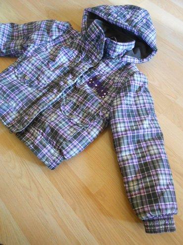 Dečije jakne i kaputi | Becej: Okay zimska jakna vel 5/6 god (122cm)besprekorno očuvana, bez ikakvih