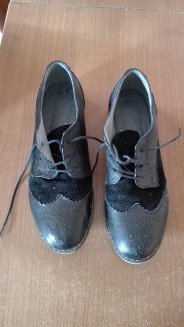 cipele kozne na pertlanje vel 39 - Beograd