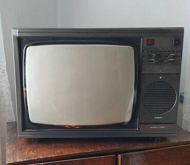 Электроника - Беловодское: Телевизор советский Садко Ц380Д полупроводниковый цветной в рабочем