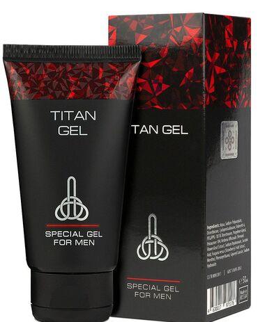 persil gel в Кыргызстан: «Titan Gel» -крем-гель для мужчин для наружного применения, состоящий