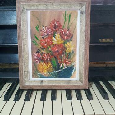 """Картина """"Астры на вазе""""Картина подарок для души!Самый креативный и"""