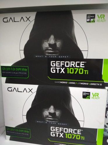 Продаю видео карту GeForce GTX 1070ti Гарантии 3 мес в Бишкек