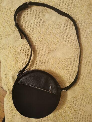 Bordo torbica - Srbija: H&M torbica, kao nova, nošena samo jednom