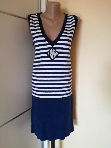 Haljine | Bajina Basta: Nova teget haljina ili tunika. Velicina S, moze i za M. Dužina 90