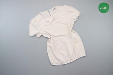 1537 объявлений: Жіноча однотонна блуза з бантиком MevIs р. XS   Довжина:52 см Напівобх