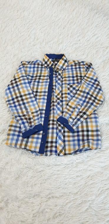 Рубашка для мальчика,размер 140, Польша,состояние в идеале. в Бишкек