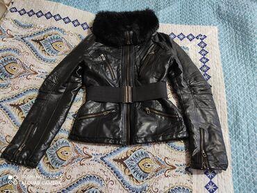 Нат.кожанная куртка