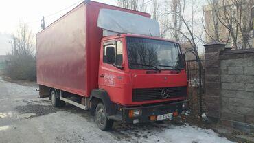 бу резина 2055516 в Кыргызстан: Мерседес бенз 709 4куба 5ступка будка 6,20метра в отличном состоянии